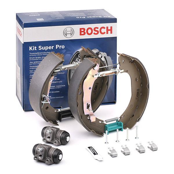 Bremsensatz, Trommelbremse 0 204 114 646 BOSCH KS646 in Original Qualität