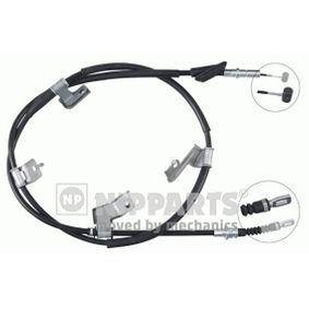 2004 Honda Civic Mk7 2.0 i Sport Cable, parking brake J19008