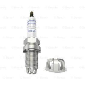 Spark Plug Electrode Gap: 0,8mm with OEM Number FR6KTC BOSCH