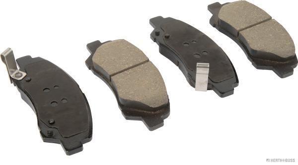 HERTH+BUSS JAKOPARTS  J3600555 Bremsbelagsatz, Scheibenbremse Breite: 132,5mm, Höhe: 50,4mm, Dicke/Stärke: 16,5mm