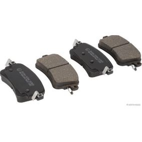 Brake Pad Set, disc brake Width: 53,4mm, Thickness: 16,5mm with OEM Number SU001A6136