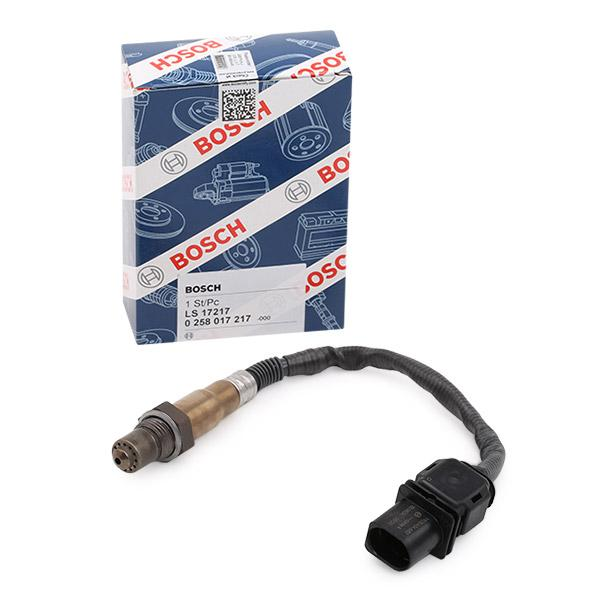 Lambda Sensor 0 258 017 217 BOSCH 17217 in Original Qualität