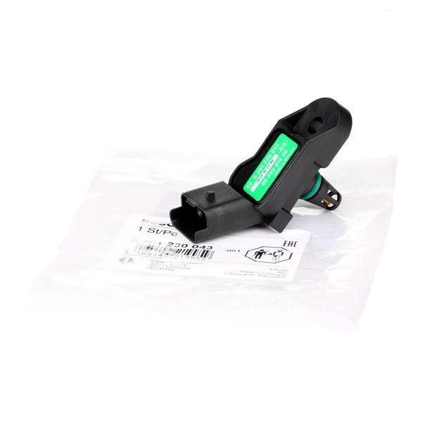 Sensor, presión colector de admisión BOSCH 0261230043 conocimiento experto