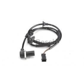 Sensoren VW PASSAT Variant (3B6) 1.9 TDI 130 PS ab 11.2000 BOSCH Sensor, Raddrehzahl (0 265 006 573) für