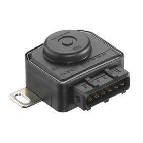 BOSCH Sensor, Drosselklappenstellung 0 280 120 431 für AUDI 80 (8C, B4) 2.8 quattro ab Baujahr 09.1991, 174 PS