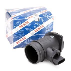 BOSCH Luftmassenmesser 0 281 002 216 für AUDI A4 (8D2, B5) 1.9 TDI ab Baujahr 03.2000, 116 PS