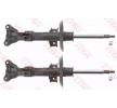 Struts TRW 11518013 TWIN, Front Axle, Twin-Tube, Gas Pressure, Suspension Strut, Top pin, Bottom Yoke
