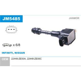 JANMOR  JM5485 Ignition Coil