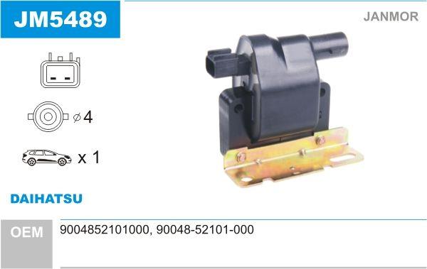 JANMOR  JM5489 Ignition Coil