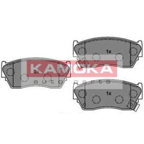 Bremsbelagsatz, Scheibenbremse Breite: 108mm, Höhe: 48mm, Dicke/Stärke: 16,4mm mit OEM-Nummer 41060 62C90