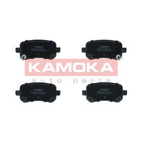 Bremsbelagsatz, Scheibenbremse Höhe: 53mm, Dicke/Stärke: 16,8mm mit OEM-Nummer K6802-9887-AA