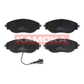 Brake Pad Set, disc brake Height: 70mm, Thickness: 20mm with OEM Number 3C0-698-151-G