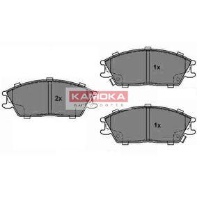Bremsbelagsatz, Scheibenbremse Breite: 128mm, Höhe: 49mm, Dicke/Stärke: 15mm mit OEM-Nummer 581011CA10