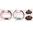OEM Set saboti frana K 50 008 de la BREMBO pentru SMART