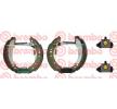 Ganasce per freni a tamburo MITSUBISHI COLT 6 (Z3A, Z2A) 2010 Anno K 54 012 Ø: 203mm