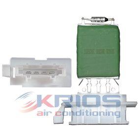 Odpor, vnitřní tlakový ventilátor K109052 Octa6a 2 Combi (1Z5) 1.6 TDI rok 2011