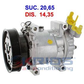 Kompressor, Klimaanlage K11245A CLIO 2 (BB0/1/2, CB0/1/2) 1.5 dCi Bj 2004