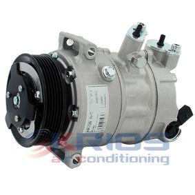 Klimakompressor Riemenscheiben-Ø: 110mm mit OEM-Nummer 1K0 820 808 F