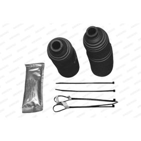Bellow Set, steering Length: 254mm with OEM Number 8E0419831