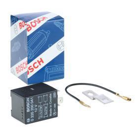 BOSCH Blinkgeber 0 335 200 041 für AUDI 80 Avant (8C, B4) 2.0 E 16V ab Baujahr 02.1993, 140 PS