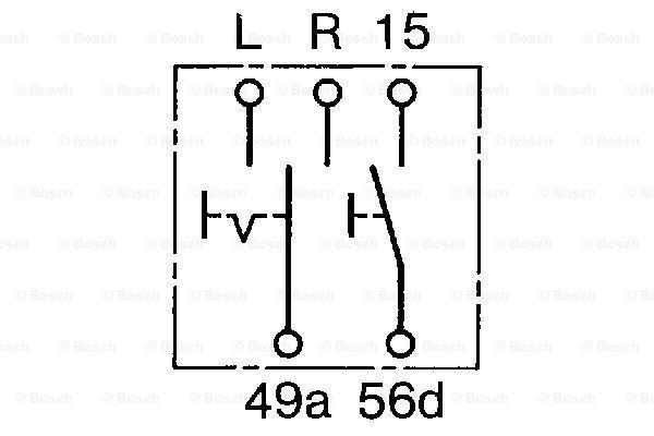Control Stalk, indicators BOSCH 0 341 810 005 3165142530468