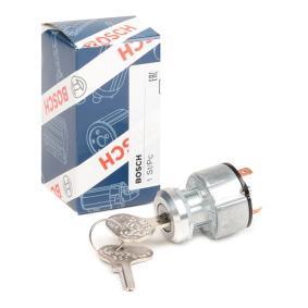 Ignition- / Starter Switch 0 342 311 007 Golf 5 (1K1) 2.0 TDI MY 2006