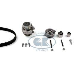 Tiguan 5n 2.0TDI 4motion Wasserpumpe + Zahnriemensatz GK K980316A-M (2.0 TDI 4motion Diesel 2018 CUWA)