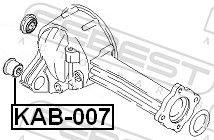 Lagerung, Differential FEBEST KAB-007 Bewertung