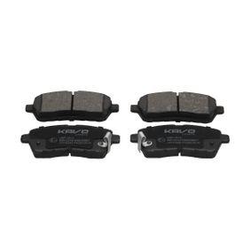 Brake Pad Set, disc brake KBP-1514 FIESTA 6 1.6 Ti MY 2013