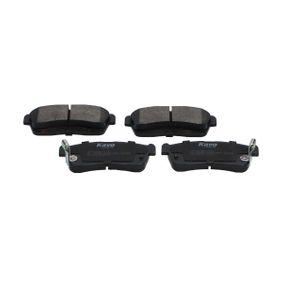 Bremsbelagsatz, Scheibenbremse KBP-1515 Cuore 6 (L251, L250_, L260_) 1.0 Bj 2020