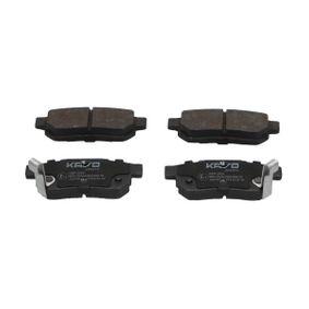 Комплект спирачно феродо, дискови спирачки ширина: 33мм, дебелина: 13мм с ОЕМ-номер GBP90316AF