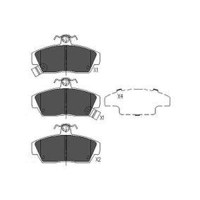 Bremsbelagsatz, Scheibenbremse Breite: 65mm, Dicke/Stärke: 17mm mit OEM-Nummer GBP90314