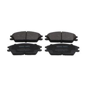 Bremsbelagsatz, Scheibenbremse Breite: 49mm, Dicke/Stärke: 14,7mm mit OEM-Nummer 5810124B00