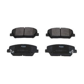 Bremsbelagsatz, Scheibenbremse Breite: 57mm, Dicke/Stärke: 16,9mm mit OEM-Nummer 58101-2MA00