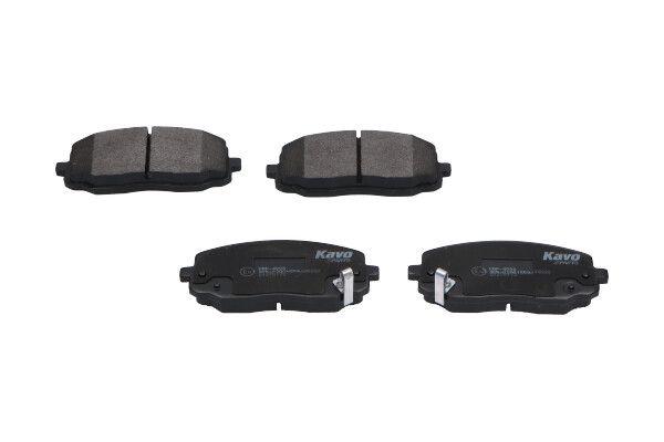 KAVO PARTS  KBP-4006 Bremsbelagsatz, Scheibenbremse Breite: 45mm, Dicke/Stärke: 16,5mm