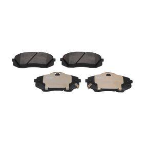 2011 Kia Sportage Mk3 1.7 CRDi Brake Pad Set, disc brake KBP-4018