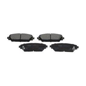 Brake Pad Set, disc brake Thickness: 15,8mm with OEM Number BHY1-33-28ZA 9C