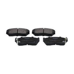 Bremsbelagsatz, Scheibenbremse Breite: 45mm, Dicke/Stärke: 16,5mm mit OEM-Nummer 4106062C90