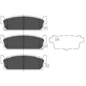 Bremsbelagsatz, Scheibenbremse Breite: 35mm, Dicke/Stärke: 14,9mm mit OEM-Nummer 44060-4U090
