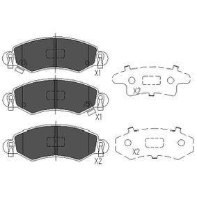 Bremsbelagsatz, Scheibenbremse Breite: 39mm, Dicke/Stärke: 16mm mit OEM-Nummer 4 704 578