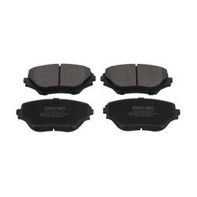 Bremsbelagsatz, Scheibenbremse Breite: 57mm, Dicke/Stärke: 17,5mm mit OEM-Nummer 04465-42130