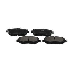 Bremsbelagsatz, Scheibenbremse Breite: 60mm, Dicke/Stärke: 17mm mit OEM-Nummer 04465-14081