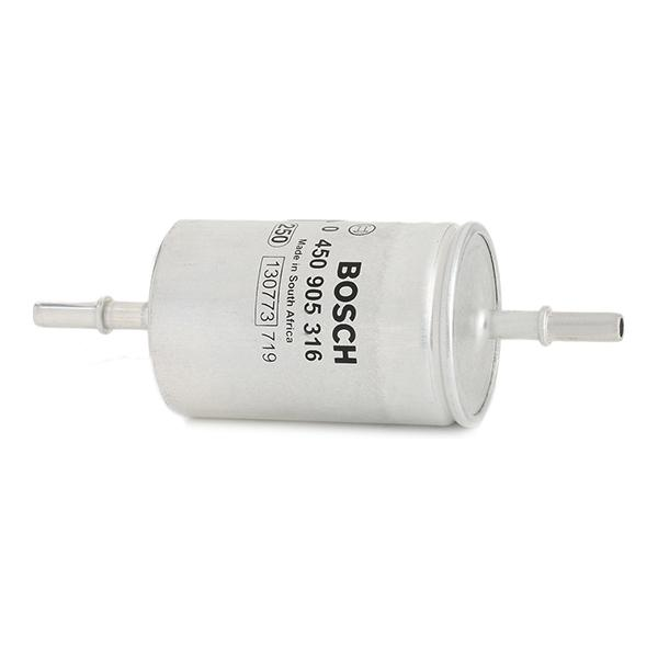 Inline fuel filter 0 450 905 316 BOSCH F5316 original quality