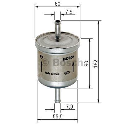 Kraftstofffilter BOSCH F5320 3165143443750