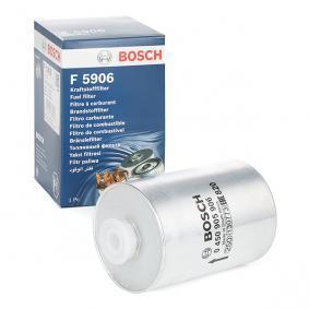 BOSCH Kraftstofffilter 0 450 905 906 für AUDI 80 (8C, B4) 2.8 quattro ab Baujahr 09.1991, 174 PS