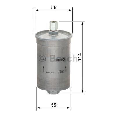 Kraftstofffilter BOSCH F5911 3165141274479