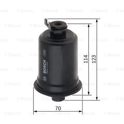 Kraftstofffilter BOSCH F5914 3165143200889