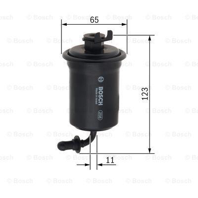 Kraftstofffilter BOSCH F5953 3165144055396