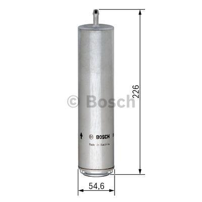 Fuel filter BOSCH 0 450 906 457 rating