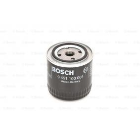 Oil Filter Ø: 93mm, Height: 95,6mm with OEM Number 79 65 051